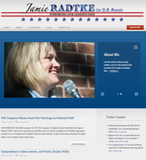Jamie Radtke For Senate