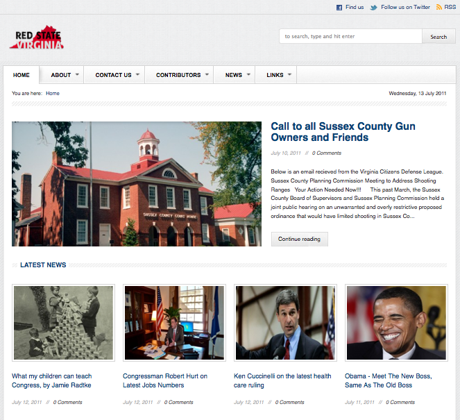 Red State Virginia - News Blog