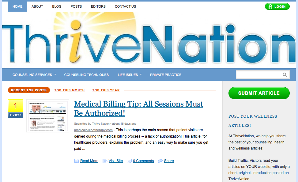 Thrive Nation - Lynchburg, VA