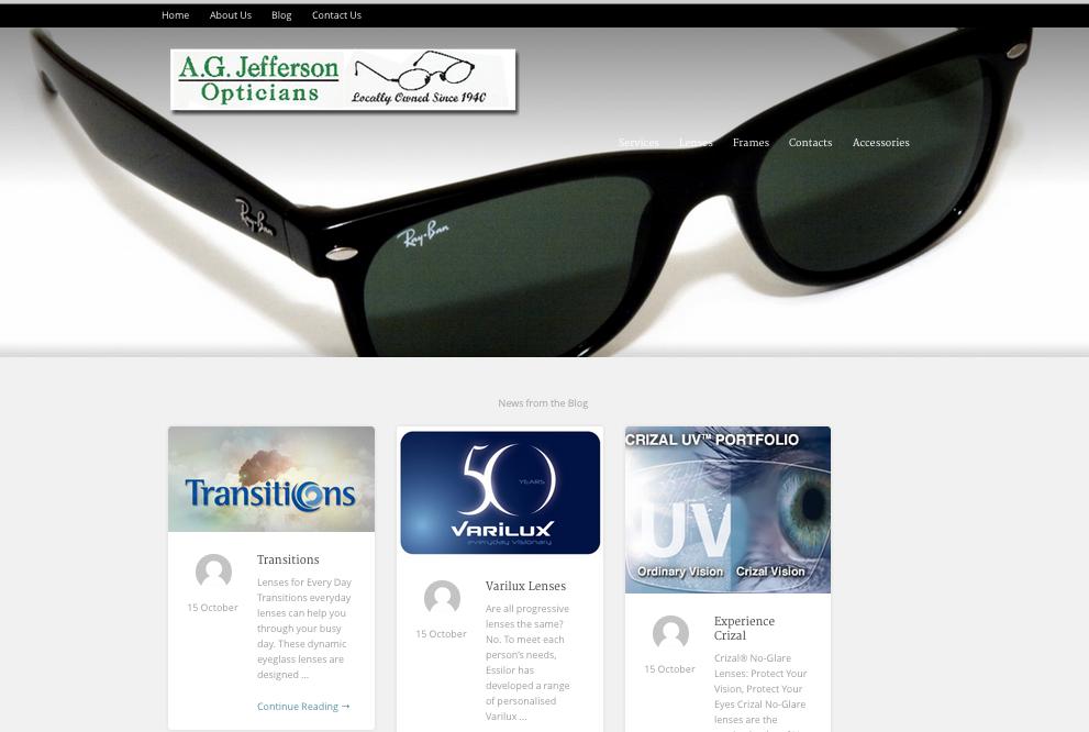 AG Jefferson Opticians - Lynchburg, VA