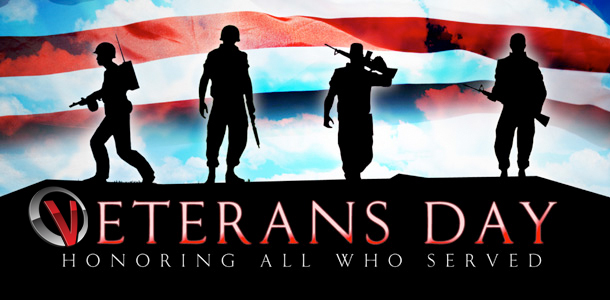 Veterans special website design offer