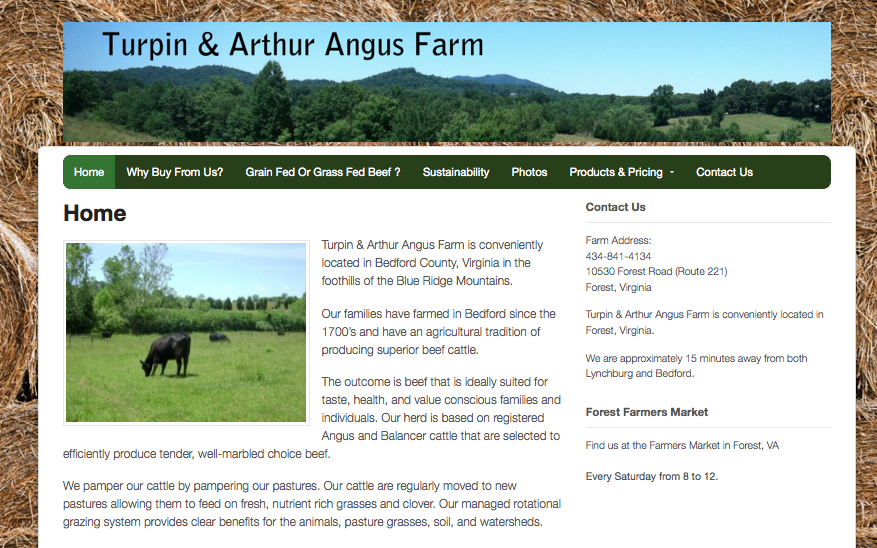 Turpin Aurthur Angus Farms - Forest, VA